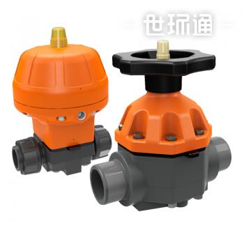 MV310手动和气动隔膜阀