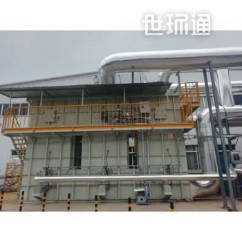 沸石转轮吸附+RTO再生系统