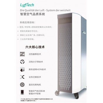 Luftech1600智慧空气品质系统(移动式*户内型)