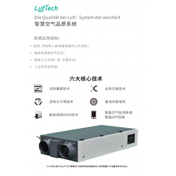 Luftech5000智慧空气品质系统(预装式*吊装型)