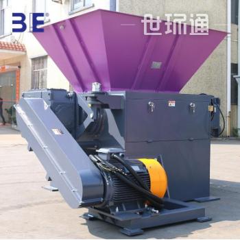 3E-广州联冠机械-双辊薄膜撕碎机-SWTF