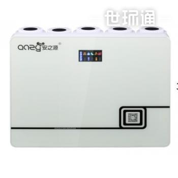 安之源(anzy)新一代微废节能 家庭厨房RO纯水机 雅白款 SC-RO-100G 自来水直饮机