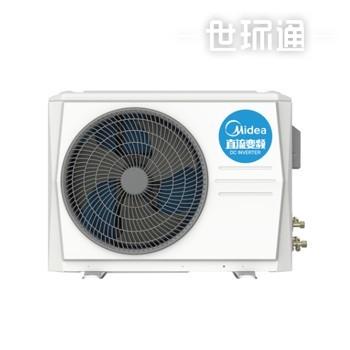 美的中央空调一拖一变频风管机智能家电 冷暖大2匹 WiFi智控 GRD51T2W/BP2N1-TR