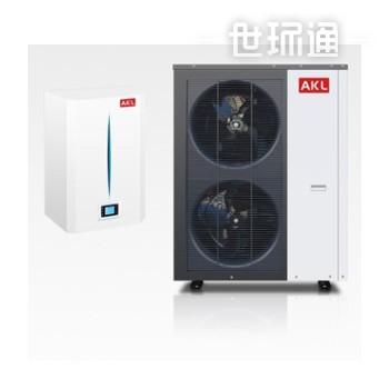 德国AKL 变频空气能热泵采暖 取暖空气源热泵