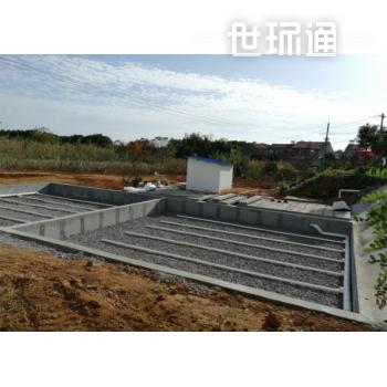 农村生活污水地埋式MBR处理系统