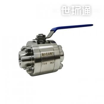 三片式高压球阀 锻压球阀 对焊承插焊球阀Q61F-160P