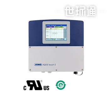 JUMO AQUIS touch S-水质分析多通道变送器/调节器,配有无纸记录功能和触摸屏(202581)
