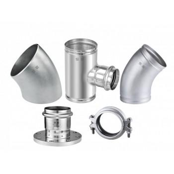 不锈钢沟槽管件系列