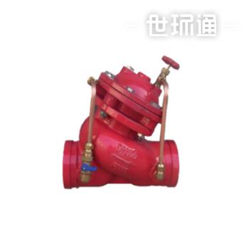 沟槽多功能水泵控制阀