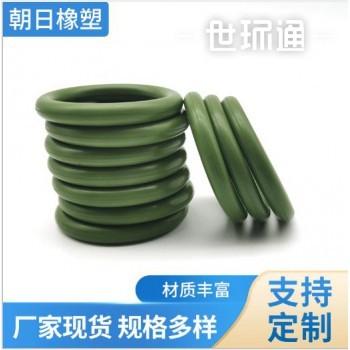 铬绿色氟胶O型圈耐磨橡塑圈氟胶O型圈密封圈密封垫片