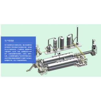 工业连续化废塑料热解生产线