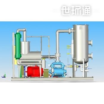 土壤气体抽除设备(防爆型) 土壤蒸气提取(SVE)
