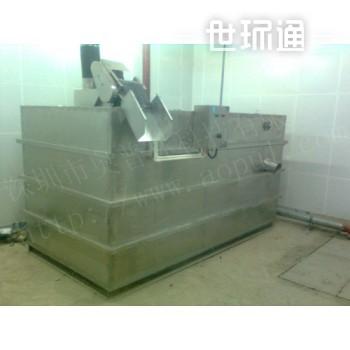 室内自动智能气浮隔油器 餐饮隔油池