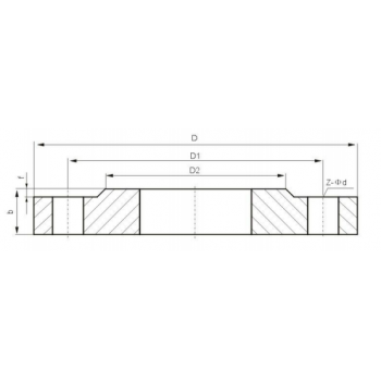 板式平焊法兰 PN16