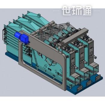 带式电渗透干燥脱水组合机