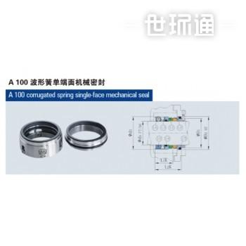 A100波形簧单端面机械密封/A200波形簧双端面机械密封