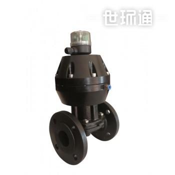 精小型气动衬胶隔膜阀