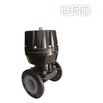 精小型气动衬氟塑隔膜阀