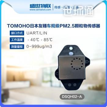 友穗DSQH02-A 激光灰尘传感器PM2.5数字输出车规级