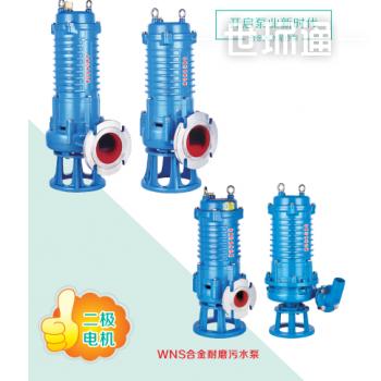 WNS合金耐磨污水泵