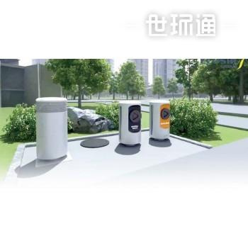 城市智能垃圾动力收集与分类系统