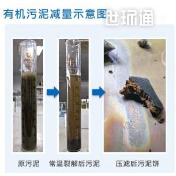 常温氧化裂解有机污泥系统