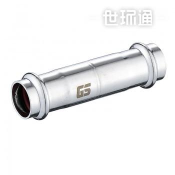 GOSUNG/革升 304不锈钢管件 双卡压式可调节直接