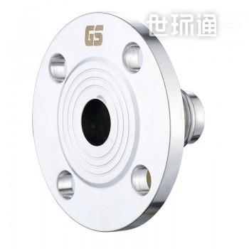 GOSUNG/革升 304不锈钢管件辅助件 双卡压法兰转换接头
