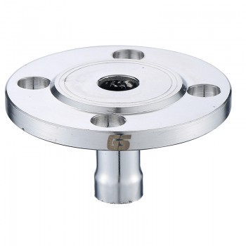 GOSUNG/革升 304不锈钢管件辅助件 承插法兰式转换接头