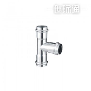 中钢不锈管业薄壁不锈钢水管欧标双卡压式管件