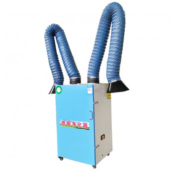 科铭环保焊烟净化器移动式焊锡烟雾除尘器旱烟工业用焊接吸烟尘收集电焊机