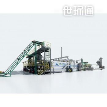 工业连续化有机废弃物热解生产线