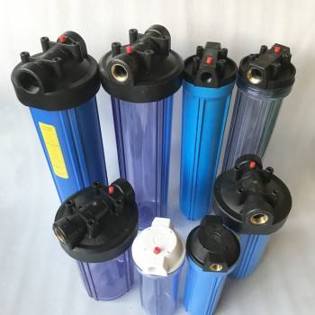 pp plastic filter housing 塑料滤壳 滤瓶 10'' 20''