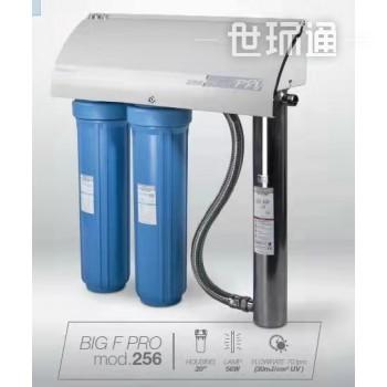 带UV灯管杀菌水处理设备