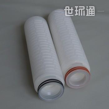 除菌聚醚砜PES国产进口膜微孔折叠终端滤芯0.220.45微米code7接口