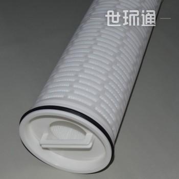 大流量大通量颇尔派克折叠安保滤芯6英寸外径肾透析过滤废水处理