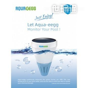 可充电式无线悬浮水质检测球Aqua-eegg