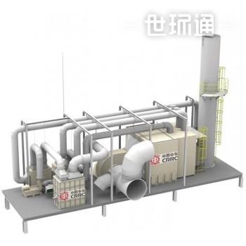 沸石转轮+催化氧化工程机