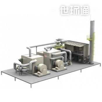 沸石转轮+蓄热氧化工程机