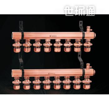 SY-9900 活接定位分水器(古铜色)