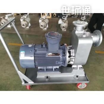 无机封耐干磨泵