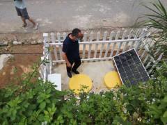 分散式污水处理设备太阳能通电