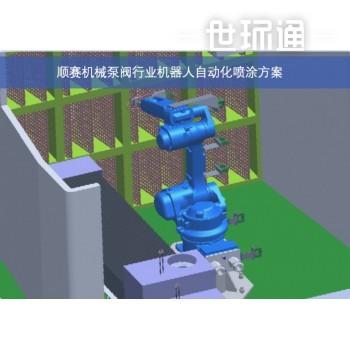 机器人自动化喷涂方案