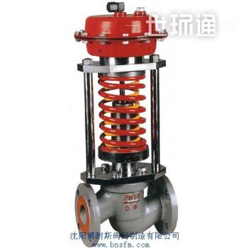 自力式(阀后)带指挥器压力控制阀,自力式调节阀生产厂
