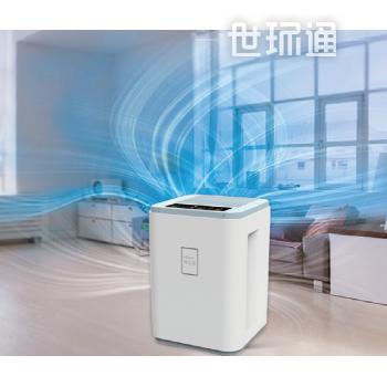 雅致型室内空气净化器--台式