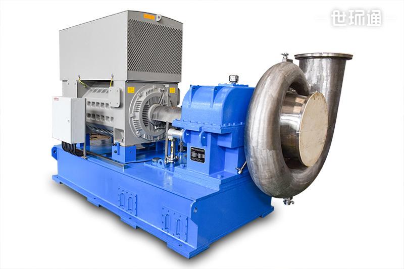 增速箱离心式蒸汽压缩机