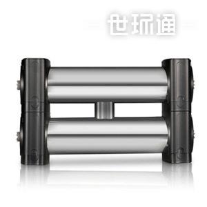 双子星1000L不锈钢厨房净水器家用 超滤净水机厨下式滤水器