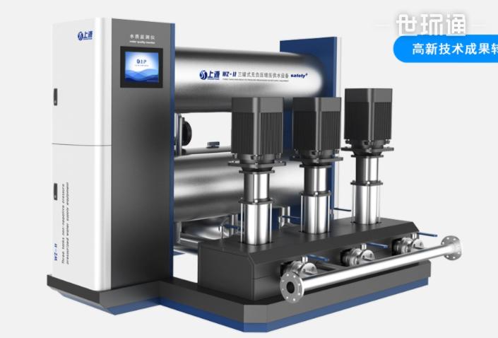 WZ-ll三罐式无负压增压供水设备