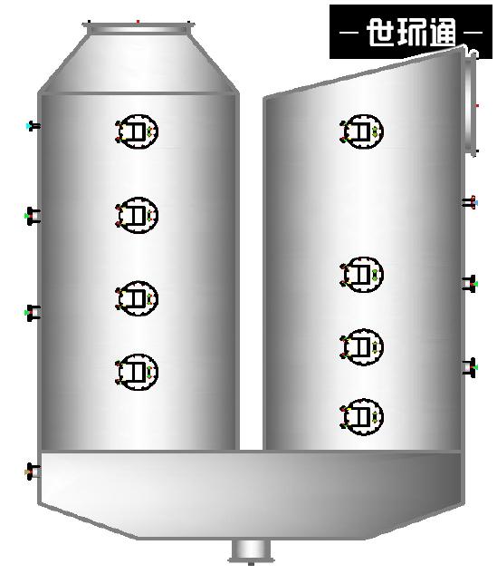 船舶尾气脱硫系统