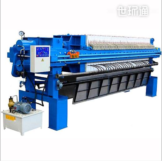 金凯地高压自动隔膜带压滤机自动卸料板框压滤机生产
